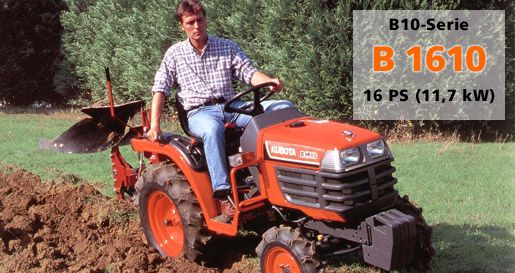 Kubota B1410 B1610 Tractor Workshop Service Repair Manual