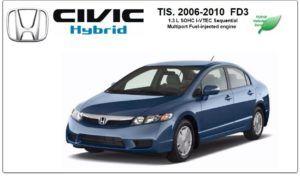 Civic Hybrid 2006-2010 Tis Workshop Service Repair Manual