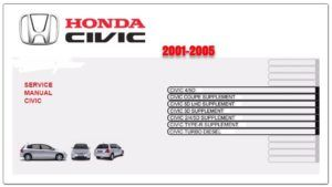 Honda Civic 2001-2005 Workshop Service Repair Manual