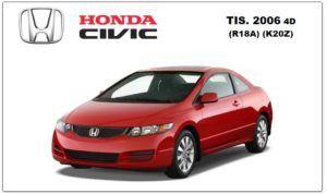 Honda Civic 2006 TIS Workshop Service Repair Manual