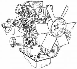 Perkins 100 Series Diesel Engines Maintenance Service Repair Manual